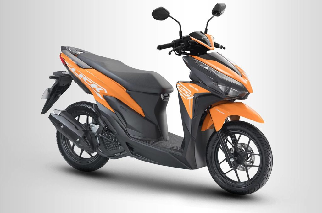HONDA CLICK 125I Orange