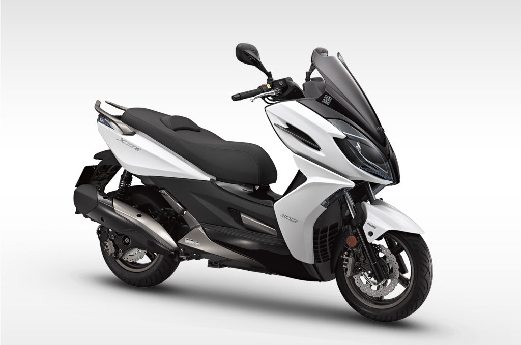 Kymco xciting 300i ABS white