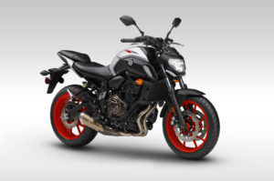 Yamaha mt07 white