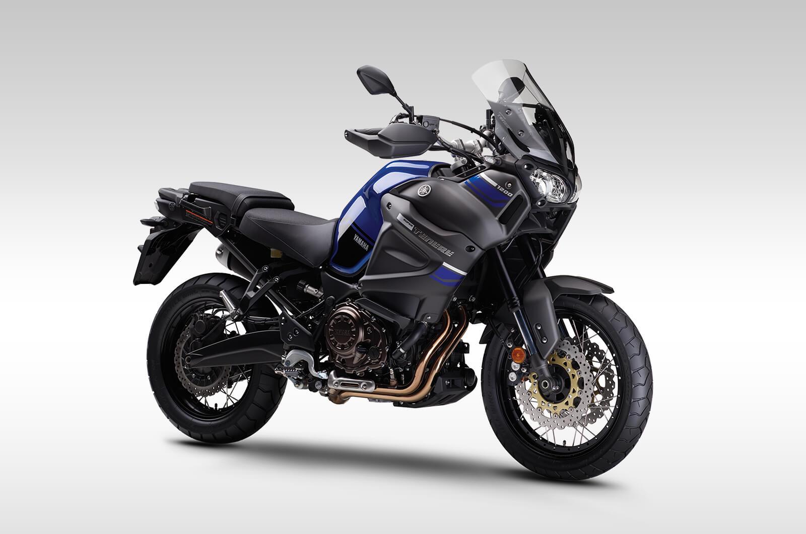 Yamaha super tenere blue