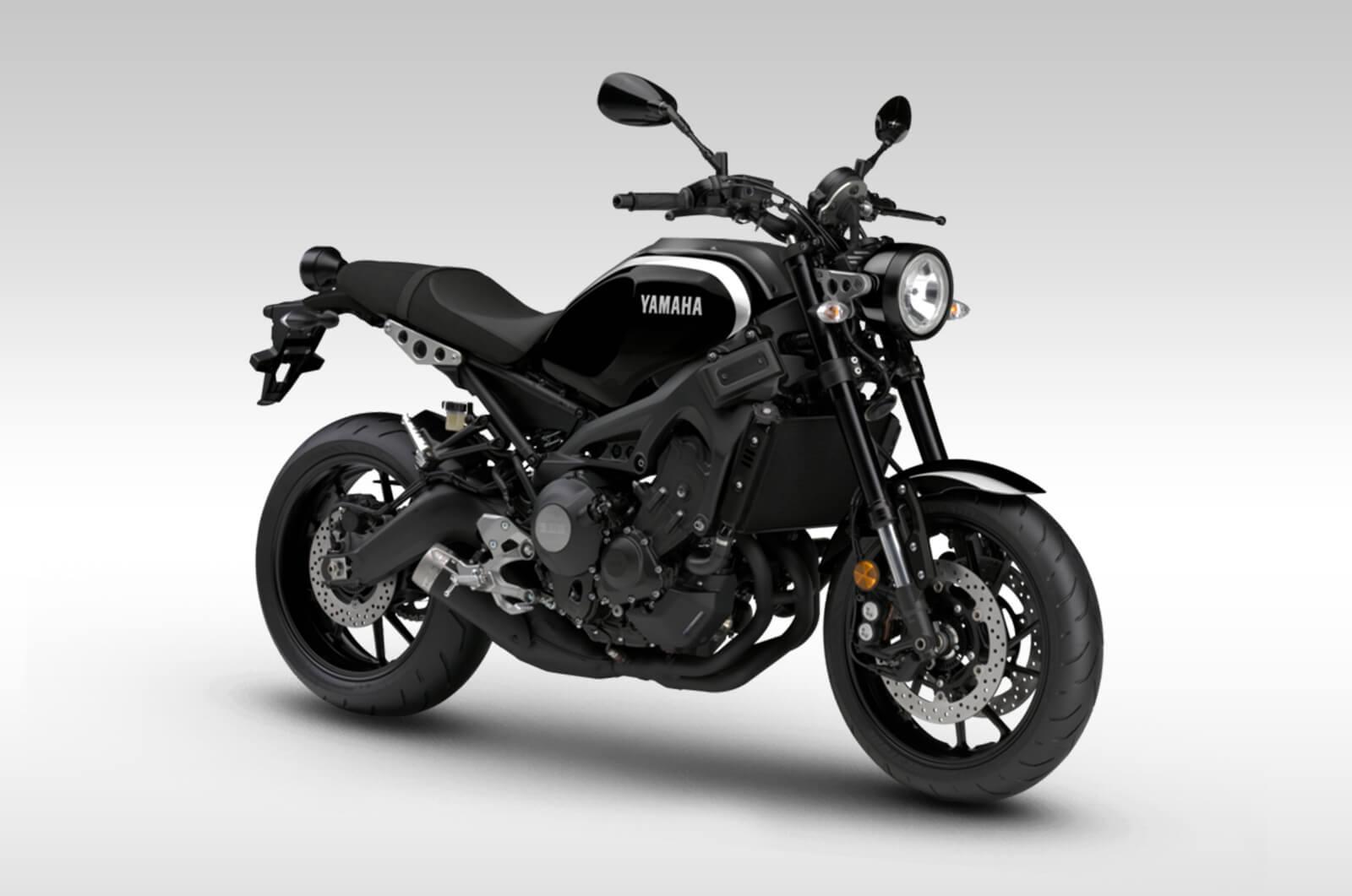 Yamaha xsr900 black