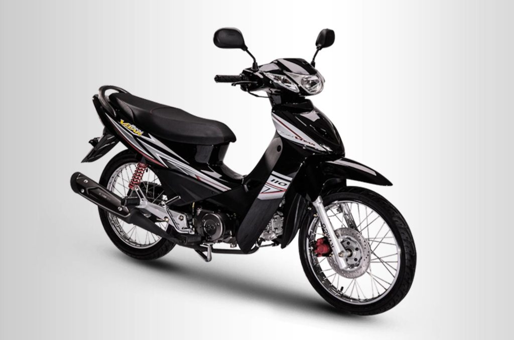 KYMCO VISA R 110 ROYAL SPOKE BLACK
